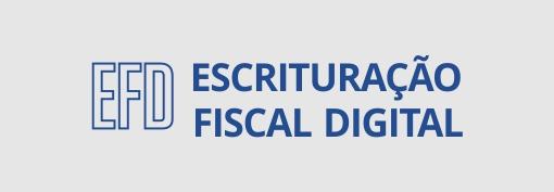 Escrituração fiscal digital.